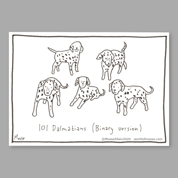 101 Dalmatians (Binary version) cartoon