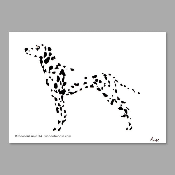 Dalmatian Cartoon