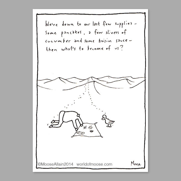 In The Desert Cartoon