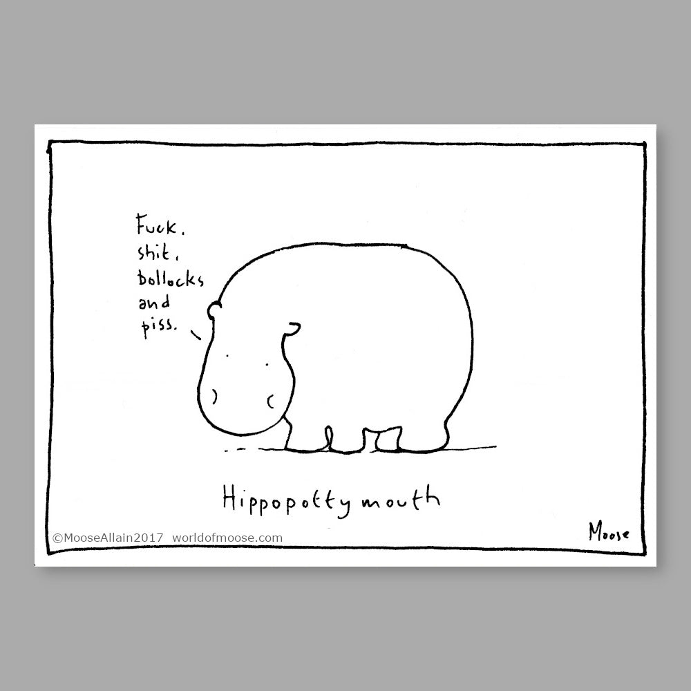 Hippopottymouth Cartoon