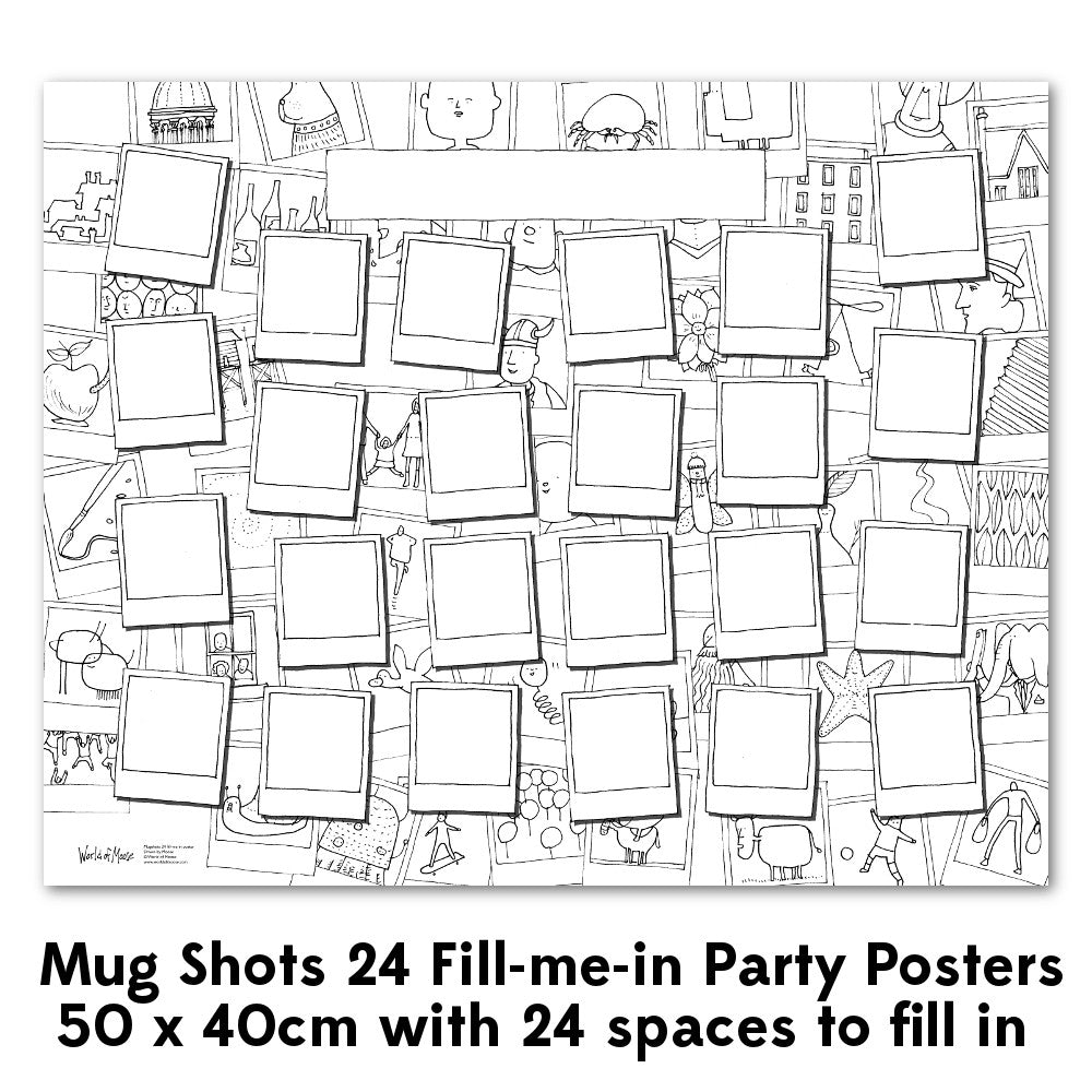 Fill-me-in Poster - Portraits 24 & 50