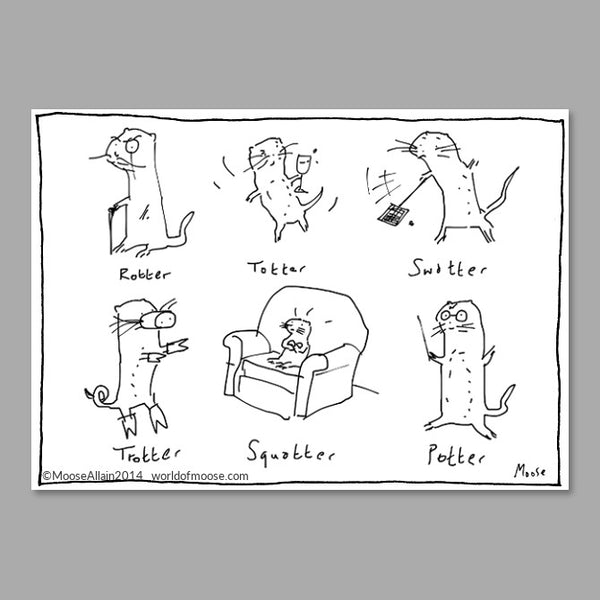 More Otters Cartoon