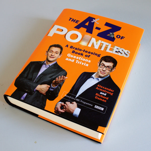A-Z of Pointless - Signed & Doodled by Moose