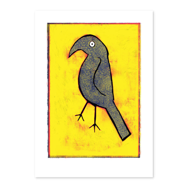 Yellow Crow Print