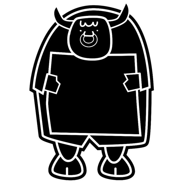 Mr Bulstrode Chalkboard Sticker