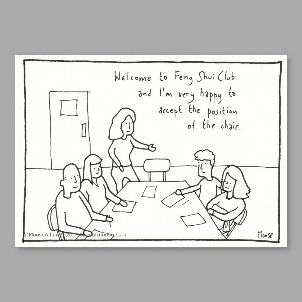 Feng Shui Club Cartoon