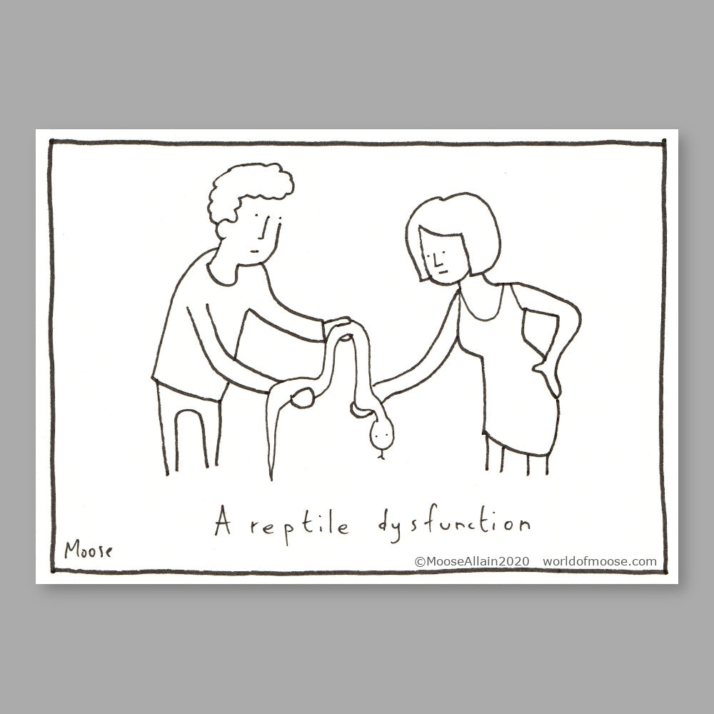 A Reptile dysfunction