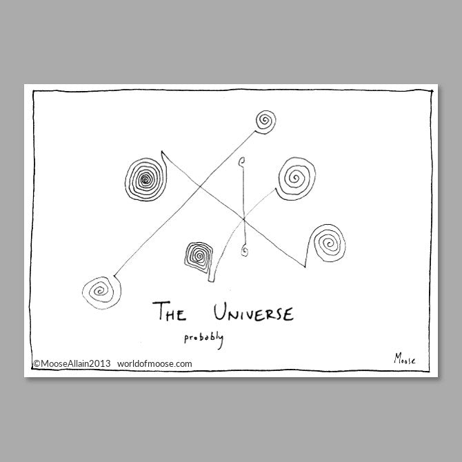 The Universe Probably
