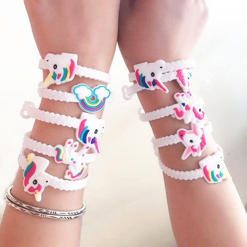 Collection de bracelet licorne kawaii