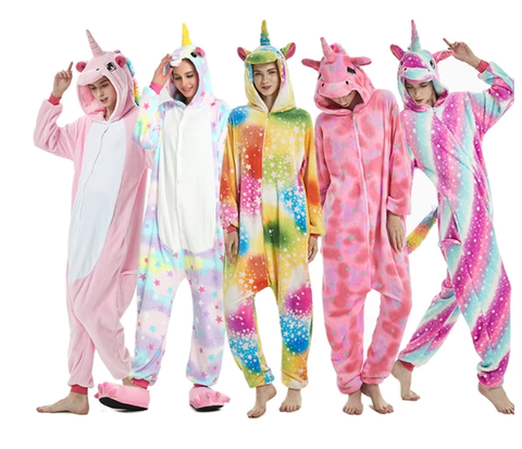 La collection de combinaisons et pyjamas licorne.