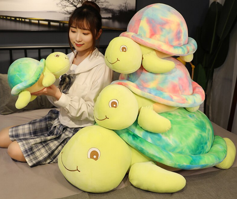 differentre taille de peluche kawaii tortue
