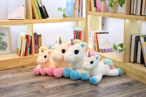 Illustration de la collection peluche licorne du site Licorne Kawaii.