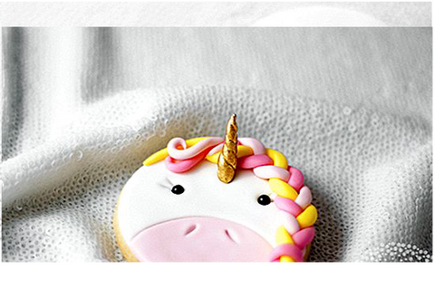 photo du resultat final en image de la recette de cuisine cookie licorne