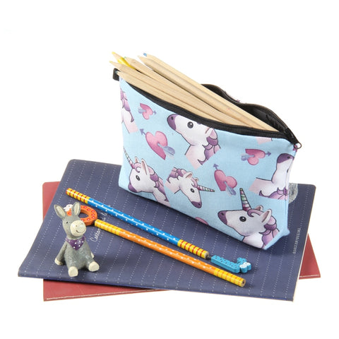 Trousse crayon licorne image et photo descriptive