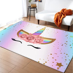 "Tapis licorne ""Unicorn are real"""