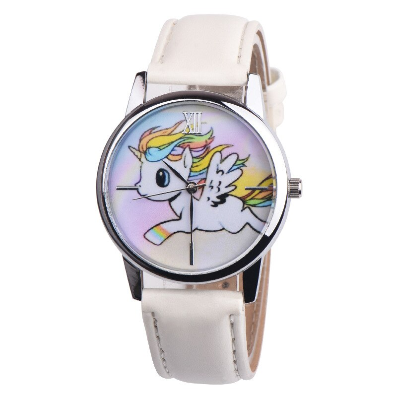 Montre blanche alicorne kawaii