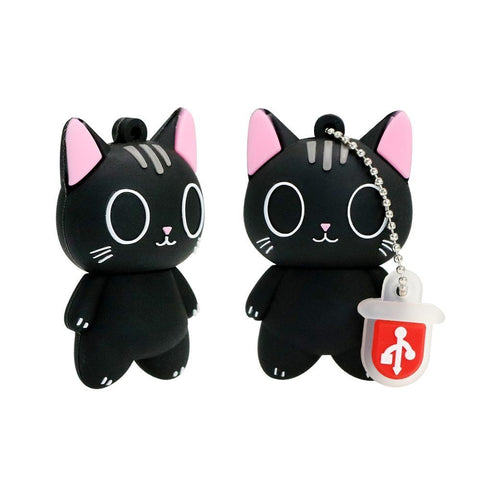 clé usb chat noir kawaii