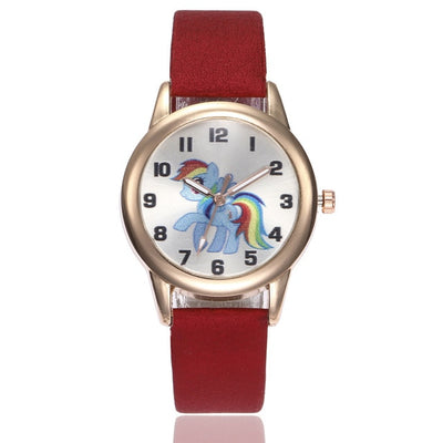 "Montre licorne mon petit poney ""Rainbow Dash 