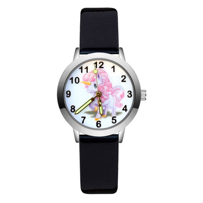 Montre licorne cartoon fille