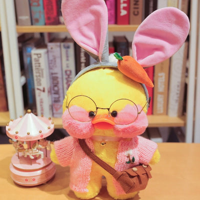 New Kawaii Duck Plush Toy Cute Animal Yellow Duck Soft Hair Doll Toy Christmas Birthday Gift Children Girl Decoration