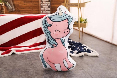 Peluches licorne Cartoon | Coussins | Licorne Kawaii
