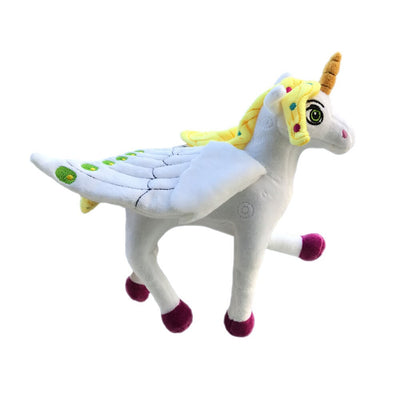 New style unicorn plush doll toy, child's dream of the holy beast6132birthday holiday to send girls gifts, children's happy toys