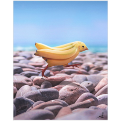 Banana Chick Fine Art Print