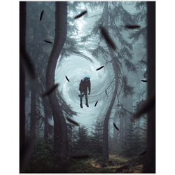 Levitating Forest Fine Art Print