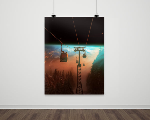 Earth Gondalo Fine Art Print