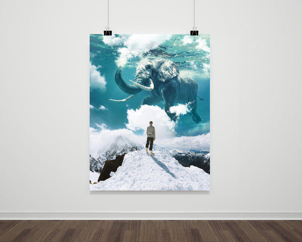 How Clouds Are Made Fine Art Print