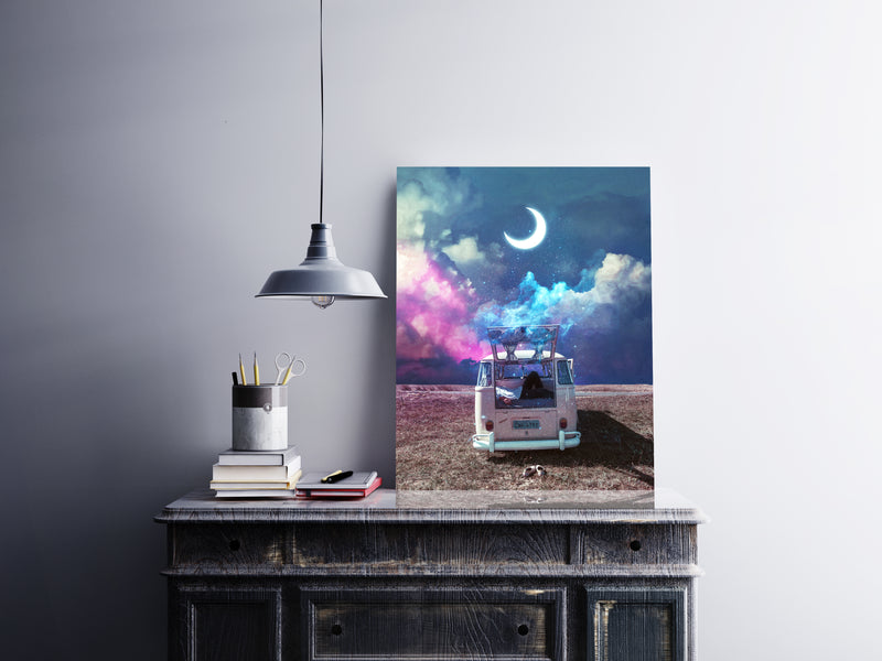 Moon Escape Canvas
