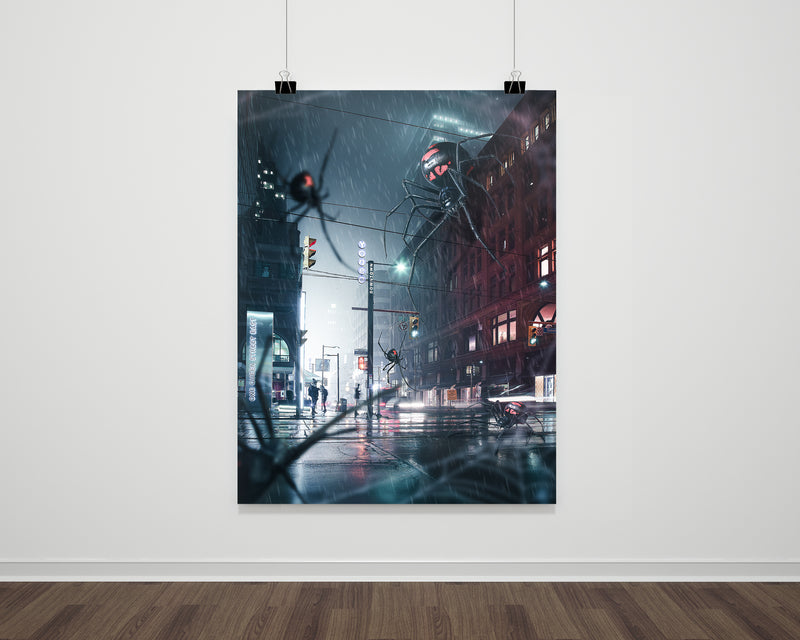 Spider In Toronto Fine Art Print