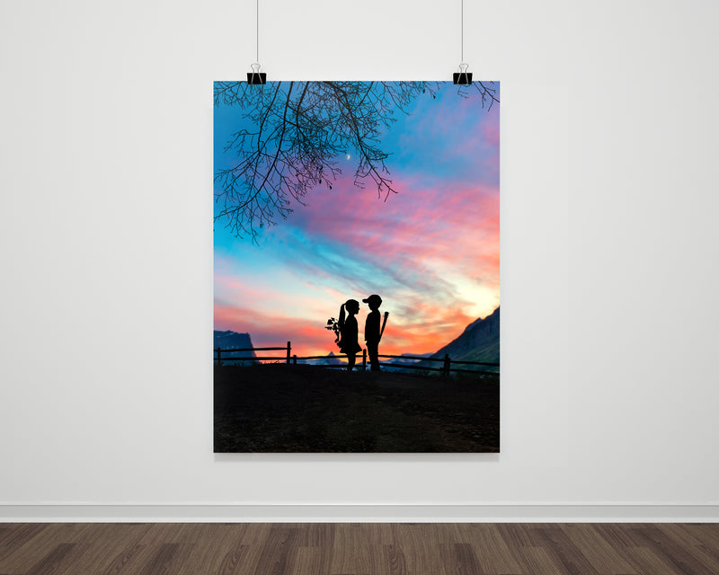 True Love Sunset Fine Art Print