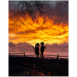 True Love Sunrise Fine Art Print