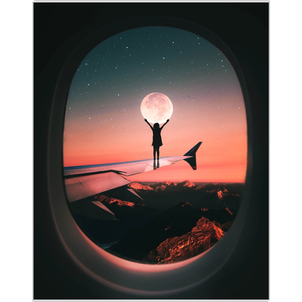 Moon Wing Fine Art Print