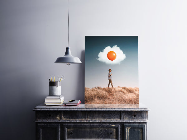 Egg Cloud Canvas