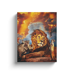 Lion Canvas Wall Art