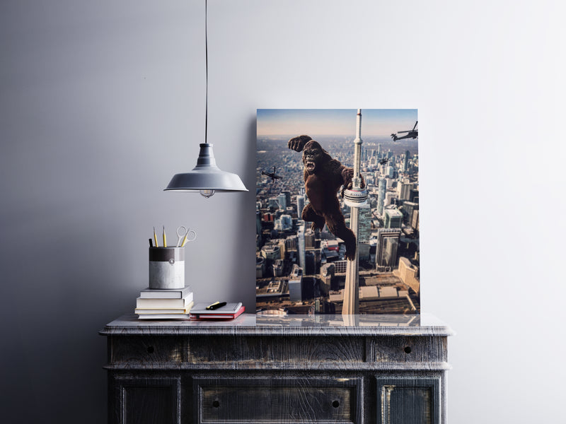 King Of The 6ix Canvas Wall Art