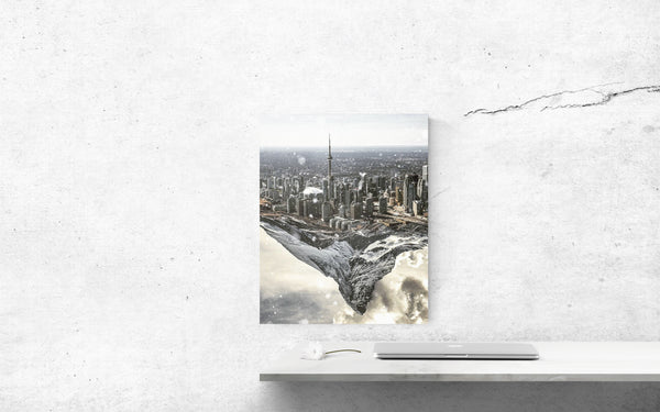 Toronto Mountain Canvas