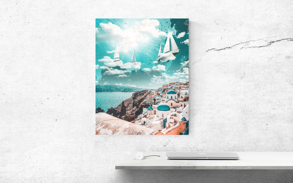 Sky Sailing Canvas