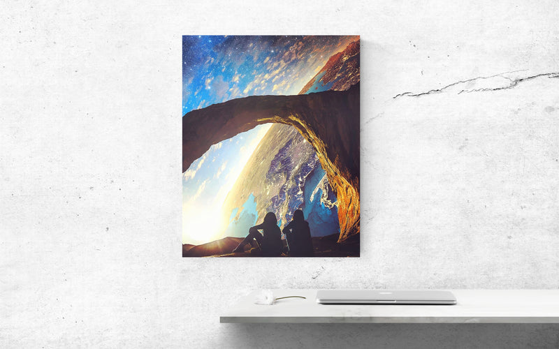 Views From Space Canvas Wall Art