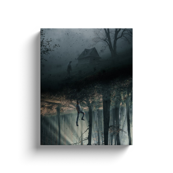 Cabin In The Woods Canvas