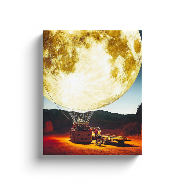 Moon Ballon Canvas