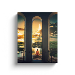 Meditate Canvas