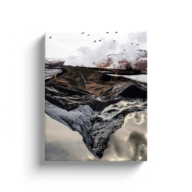 Mountain Road Canvas Wall Art