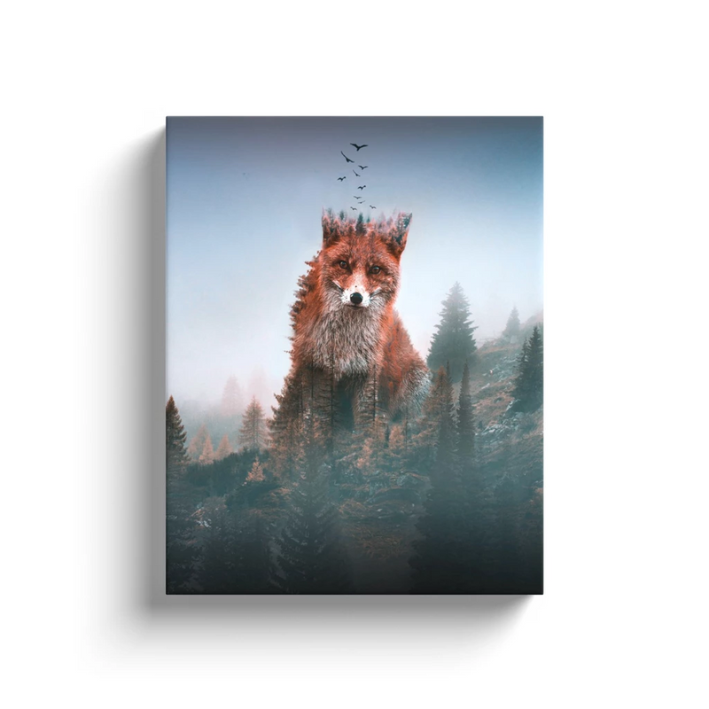 Fox Autumn Canvas