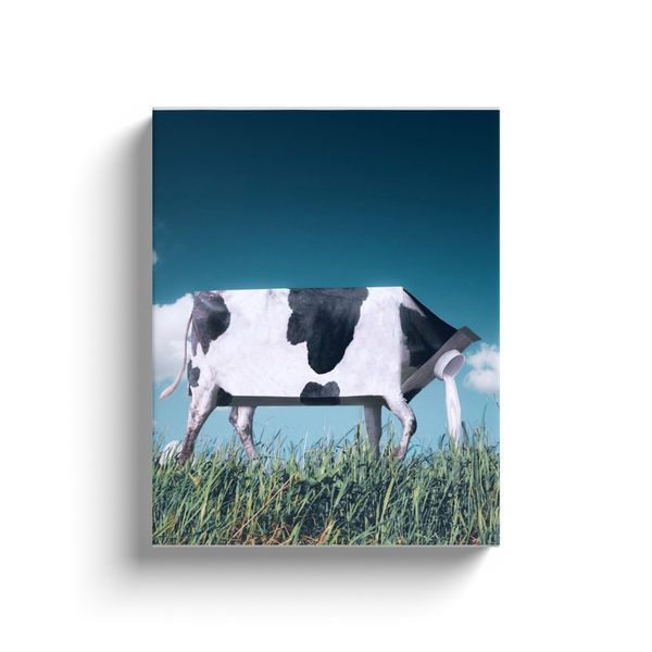 Cow Milk Canvas
