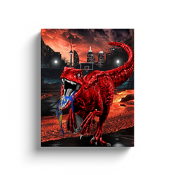 Toronto Raptor Canvas Wall Art