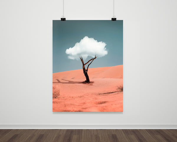 Cloud Tree Fine Art Print