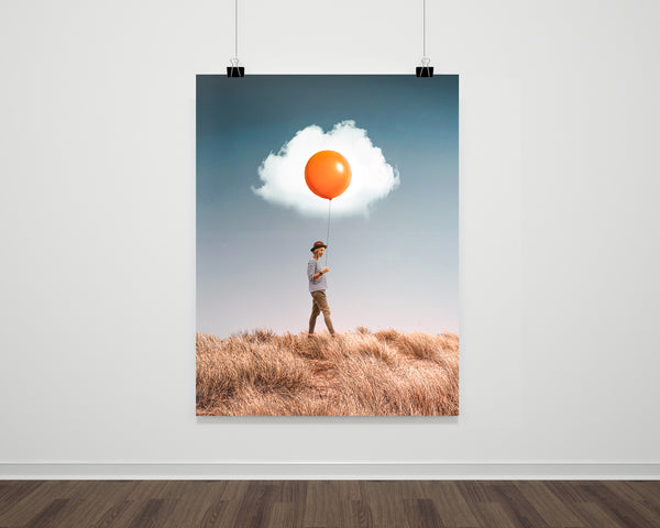 Egg Cloud Fine Art Print